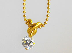 K18ダイヤペンダントネックレス 0.368ct(G/Si2/VG) 鑑別書付 ¥179,000  SOLDOUT